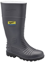 Blundstone Comfort Arch Safety Gumboot Grey