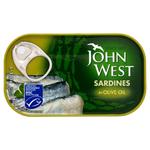 JWEST Sardines OliveOil 120g x12