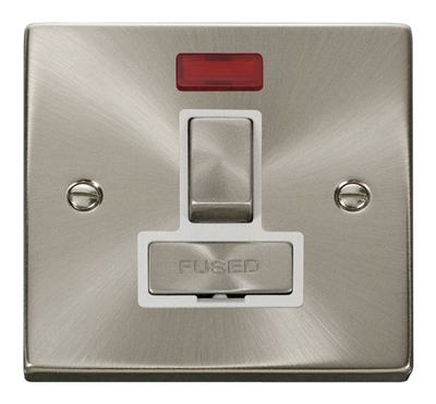 Click Litehouse DECO Fused Spur Ingot Switch Neon White Insert
