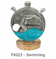 Swimming Flex Figure 75mm (Silver & Gold)