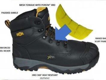 BOA Advance Metatarsal Safety Boot S3 SRC M HRO HI CI