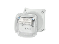 Hensel DK0202G 2.5sq junction box, IP66 elastic membrane and knockouts