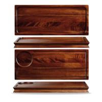 Large Wooden Deli Board 40x16.5cm Carton of 4