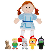 Wizard of Oz - Hand & Finger Puppet set
