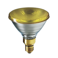 Philips Par 38 80W Yellow Halogen Flood Lamp