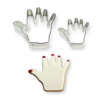 SC619  HAND COOKIE CUTTERS SET OF 2