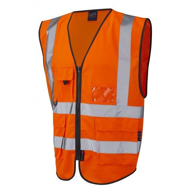Orange Lynton Class 1 Superior Executive Vest