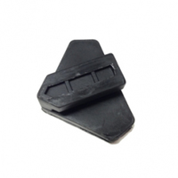 Triangle Clamp Pad Black pack of 2