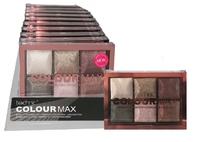 Technic Colour Max Baked Eyeshadows Cappuccino 6 X 2g