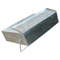Deville Galvanised Ash Carrier