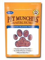 Pet Munchies Venison Training Treats 150g x 8
