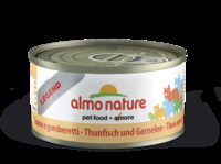 Almo Nature Legend Cat Cans - Tuna & Shrimps 70g x 24