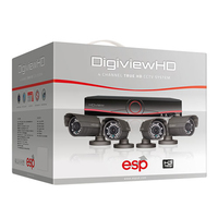 ESP HDV4KB HD 4 Camera + 1TB DVR KIT
