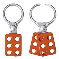 Master Lock Aluminum lockout hasp, 38mm jaw clearance