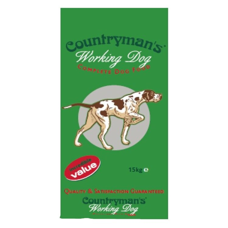 Countryman's Working Dog 24% 15kg