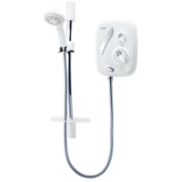 Triton Thermostatic Power Shower White/Chrome