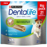 Purina Dentalife Oral Care Sticks Small 21-Stick Loyalty Pack x 3