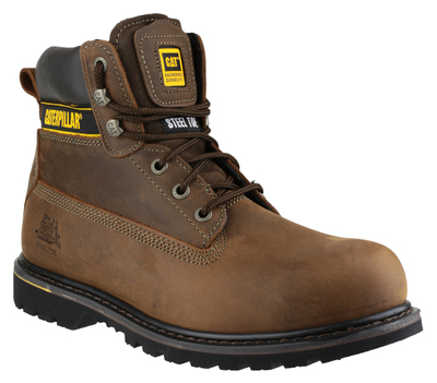 Caterpillar Holton Brown S3 HRO Full Safety Boot