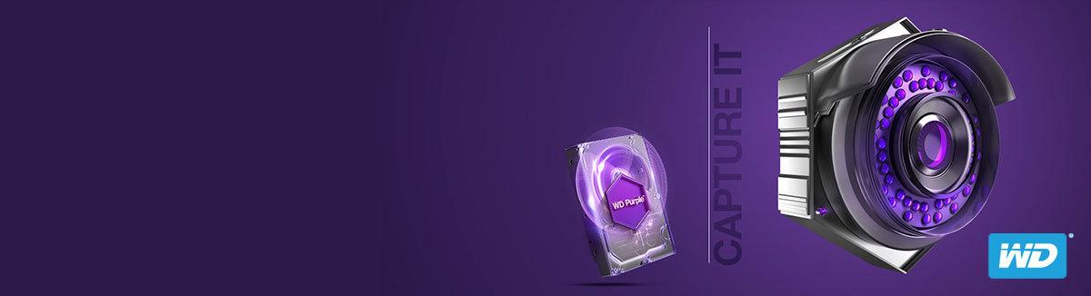 WD Purple Surveillance Hard Drive : Uncompromising Storage