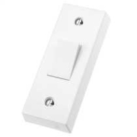 DETA VIMARK  FLUSH ARCHITRAVE SWITCH 10A 1 GANG 2 WAY