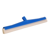 Double blade squeegee with white blade cartridge