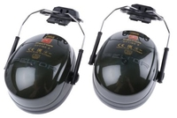 3M Peltor Optime II Helmet Mounted Earmuffs - SNR 30 dB