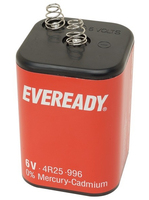 S4682 BATTERY EVEREADY PJ996 6V (12S)