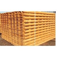 H/D CAPPED TRELLIS GOLD 6 x 6