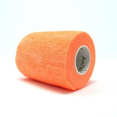 Purfect Aniwrap Cohesive Bandage Fluorescent Orange 5cm