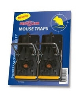 Plastic Pre-Baited Mouse Traps - (Pack of 2)