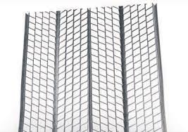 GALVANISED RIB LATH 0.5MM GAUGE 600MM X 2.5M