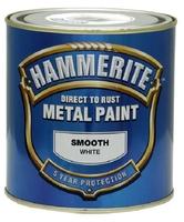 HAMMERITE SMOOTH WHITE 5 LTR