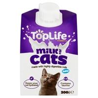 TopLife Cat Milk Formula 200ml x 18