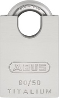 ABUS 90RK50 50mm TITALIUM IB REKEYABLE PADLOCK