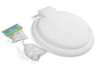 LORDOS TOILET SEAT WHITE