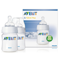 Avent Classic 4Oz Bottle Twin Pack