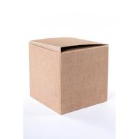 BOX 90x90x90MM  NAT. CORREGATED