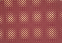 PAPER BURGUNDY W/GOLD DESIGN  50CMX100MTS
