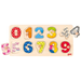 Wooden counting Peg Puzzle