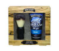 Man stuff Close Shave