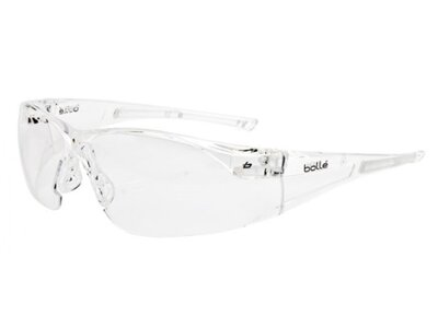 BOLLE RUSH Clear Lens Safety Glasses
