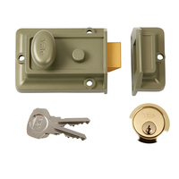 YALE 60MM BRASS NIGHTLATCH