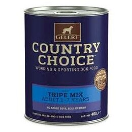 Gelert Country Choice Adult Dog Tripe Mix 12 x 400g