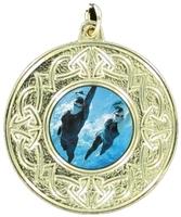 50mm Celtic Medal (Gold)