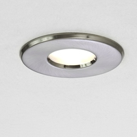 Kamo GU10 Downlight IP65 Brushed Nickel | LV1702.0045