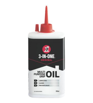 3 IN 1 200ml MULTI PURPOSE OIL LUBRICATES, CLEANS & PREVENTS RUST