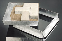 Recessed Manhole Cover & Frame 85mm x 600x600mm Galvanised