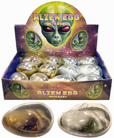 Alien Eggs. (Sold in displays of 12, min order 1 display)