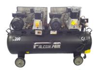 FALCOM 3HP X3HP TWIN 200LTR 230V BELT DRIVE COMPRESSOR NO HM-2H-0.25/200L