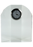 12cm Leitrim Crystal Clock (Satin Box)